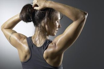 Kettlebell circles can strengthen your upper back and shoulders.