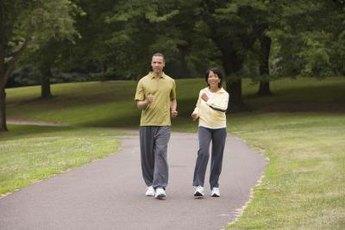 Enjoy fresh air as you exercise.