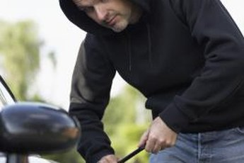 Auto insurance premiums are higher for often-stolen vehicles and areas where auto thefts occur more frequently.