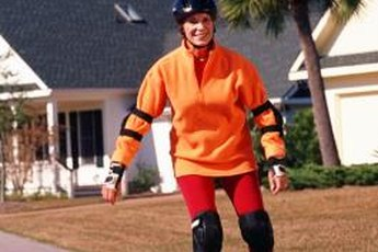 A helmet and other protective gear will help reduce the risk of injury when attempting to learn new skills.
