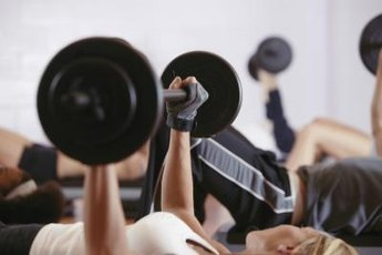 The bench press is an example of a mass-building compound exercise.