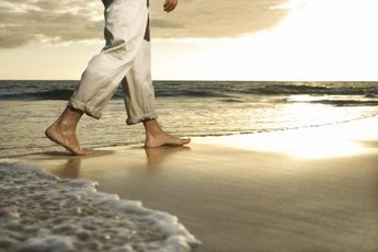 Walking on the sides of the feet is called supination.