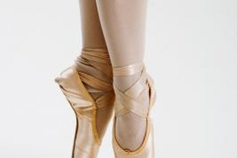 You need sturdy ankles to dance en pointe.