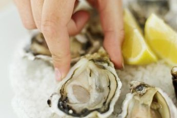 Oysters contain a high amount of zinc.