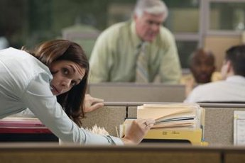 Snooping around a co-worker's desk is a surefire way to breach trust.