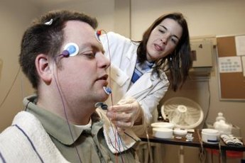Sleep technicians help in the process of diagnosing sleep disorders.