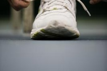 Wear the right athletic shoes to prevent sore calves.