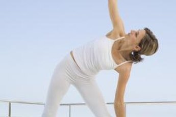 Yoga poses, such as the extended triangle, may help reduce pressure on your sciatic nerve.