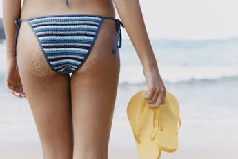 Show off your toned butt at the beach.