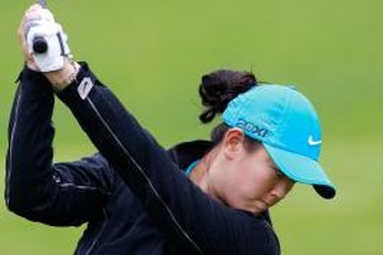 Michelle Wie is one of the LPGA Tour's longest hitters.