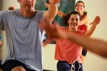 Make new friends in a group exercise class.