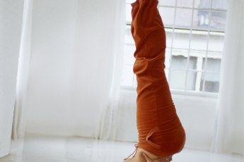 Yoga Poses: The Shoulder Stand