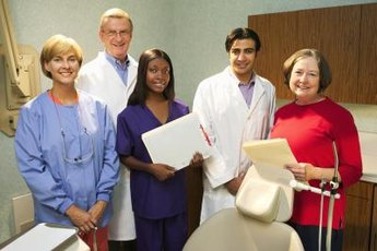 Each staff member of a dentist's office has a distinctly different role.