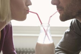 Although milk contains carbs, it won't cause a dangerous spike in blood sugar levels.