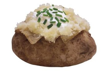 Chives may make this potato more appealing to you, but they can make your cat sick.