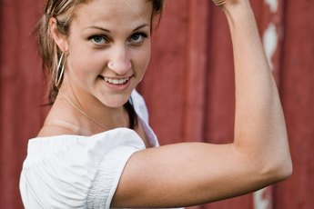 Dumbbell Exercises for Underarm Flab