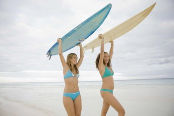 Surfer Exercises
