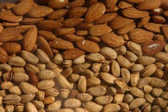 Almonds are packed with heart-healthy fats and essential amino acids.