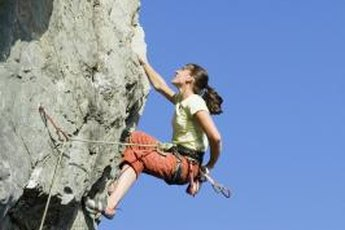 Balance training could give you better stability on the wall.