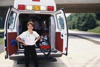 Paramedics respond to emergencies.
