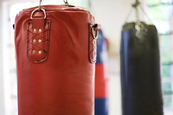 Standing Punching Bag Exercises