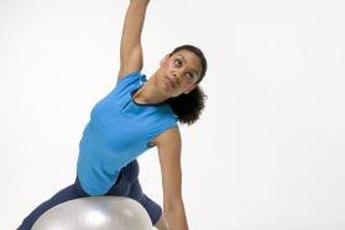 Exercise balls are a terrific abdominal tool.