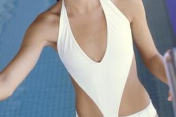 Low-impact pool exercises tone muscles.