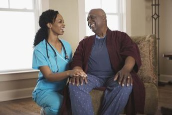 CNAs develop close relationships with patients.