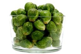 Brussels sprouts are low in fat and calories.