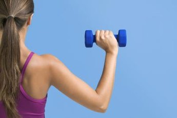 The idea weight for shoulder presses is different for everyone.