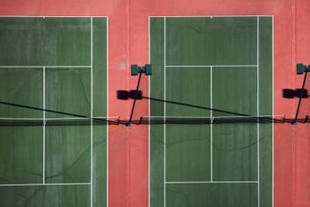 Sprint exercises on the court help players to become fast and explosive during match play.