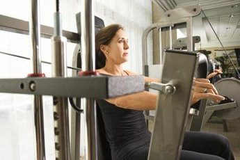 Pick machines that work multiple muscle groups.