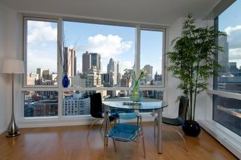 Renting out vacant units for weekend conventions provides regular income for apartment owners.