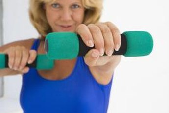 Weights can tone your muscles without adding bulk.
