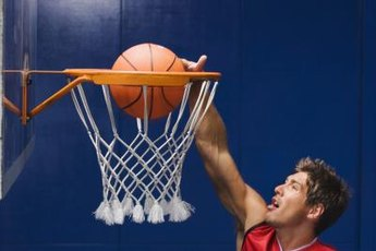 Basketball players use Jumpsoles to develop power and increase vertical leap.