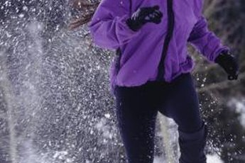 Winter weather can speed up your metabolism if you're cold enough to shiver.