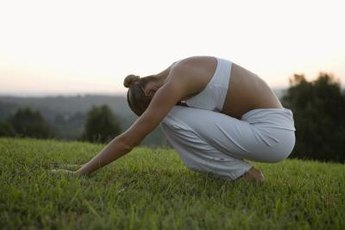 Do gentle stretches for your back that won't aggravate your sore tailbone.