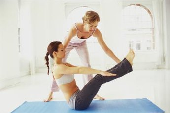 Boat pose is a strengthening pose recommended for scleroderma patients.