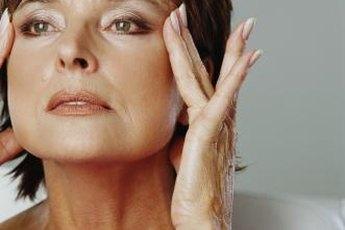 Use facial yoga exercises to naturally tighten facial and neck muscles.