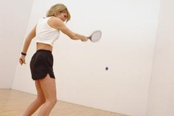 Racquetball can be fun to play regardless of your ability level.