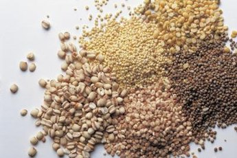 Many types of grains contain vitamin B1.