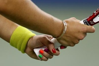 Strong hands give you a firm tennis grip.