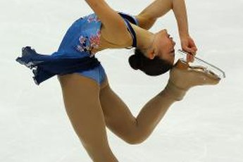 Figure skaters such as Mirai Nagasu require strong ankles.