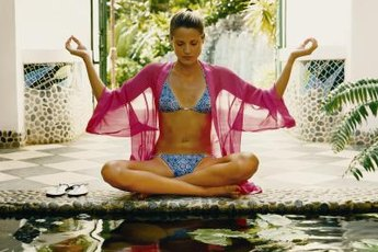 You can find serenity with calming yoga poses.