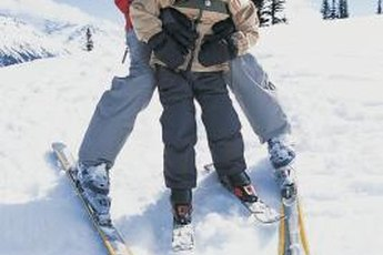 Beginners need a loose DIN setting so their skis come off easily.