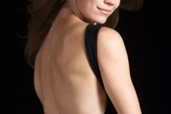 Make heads turn when you step out in that backless little black dress.