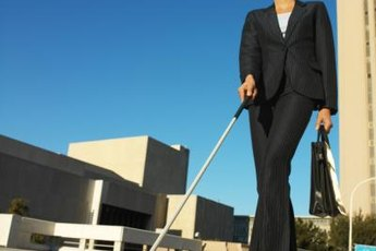 Some minor adjustments may allow you to keep your job if you become blind.
