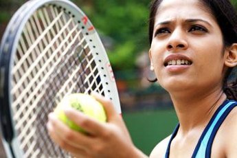 Improve your serve to win more matches.