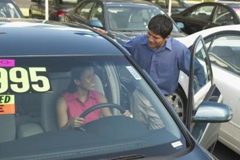A co-signer can help you get a car loan you might not be able to get on your own.