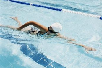 Swimming is a full-body exercise that also improves cardiovascular health.